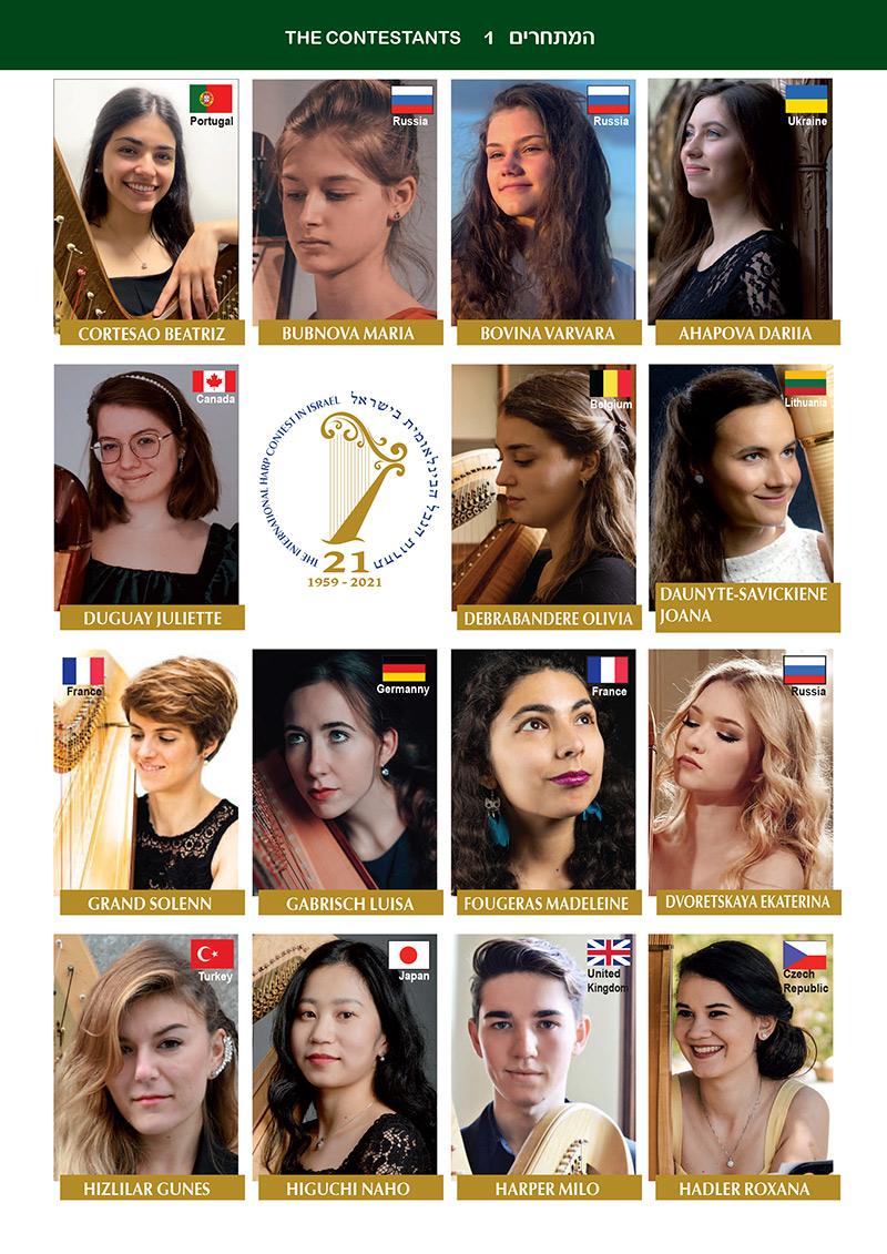 2021 Contestants photos page 1