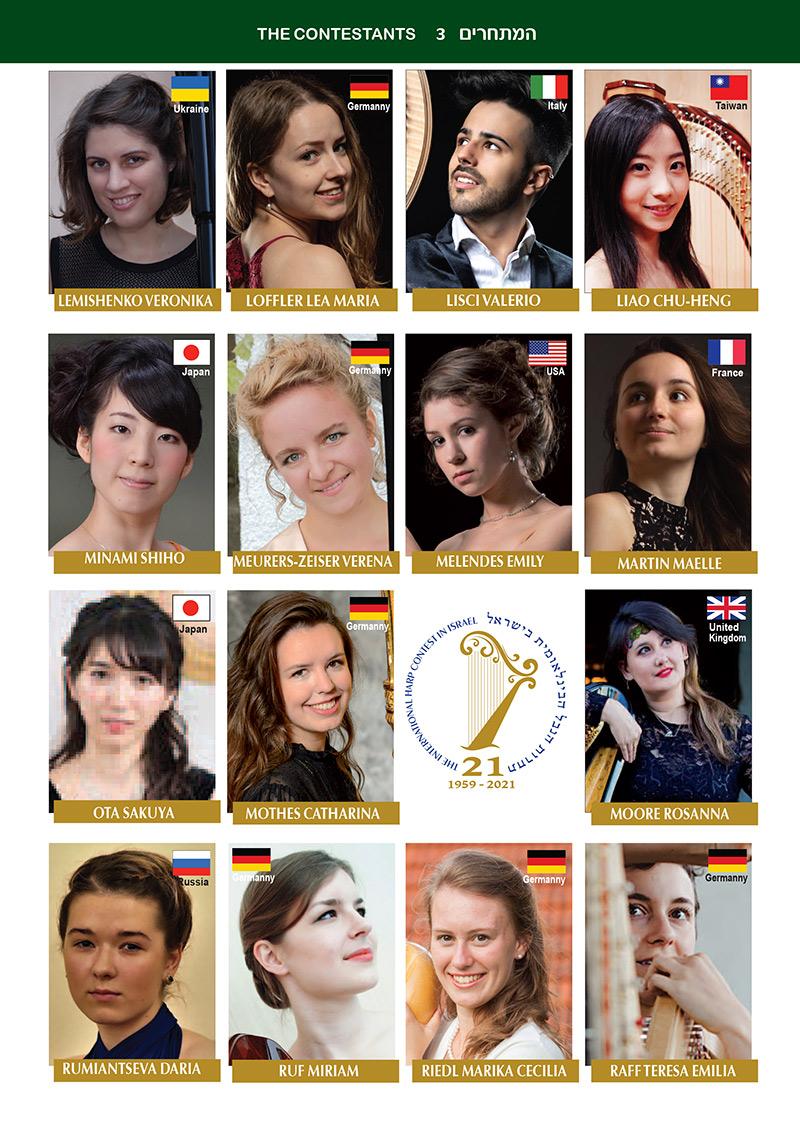 2021 Contestants photos page 3