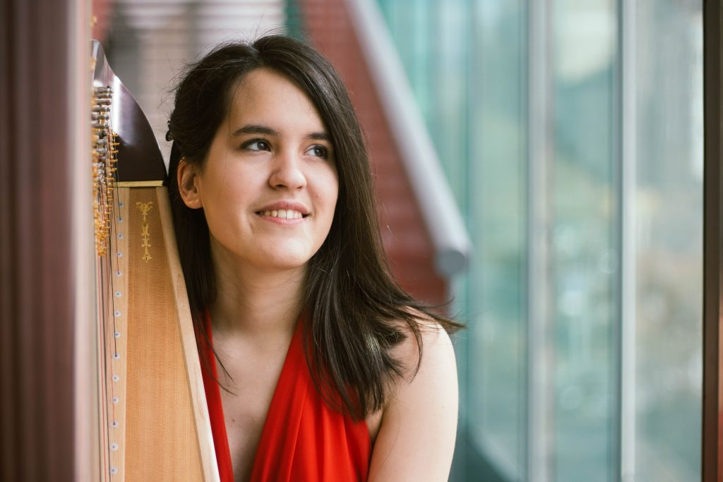 Lenka Petrovic, Serbia First Prize Winner of the 20th International Harp Contest in Israel, 2018 Lenka will play at the Opening Concert on 4 October 2021